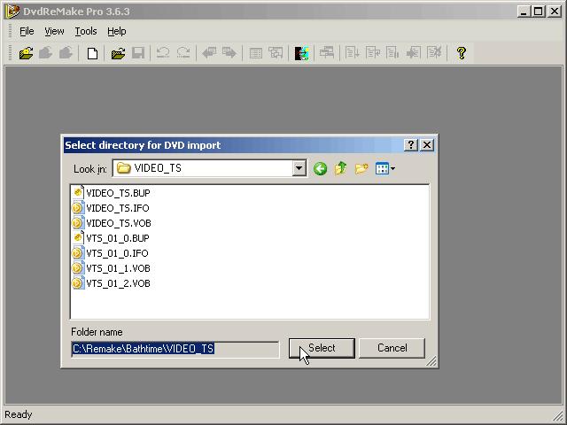DVDRemake Pro Tutorial 8