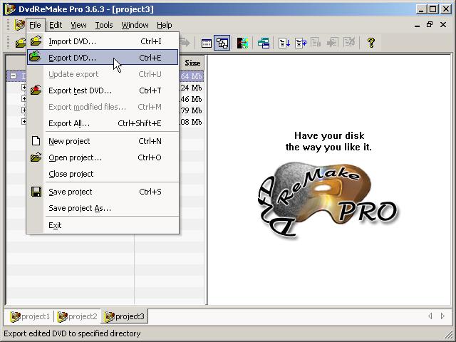 DVDRemake Pro Tutorial 14