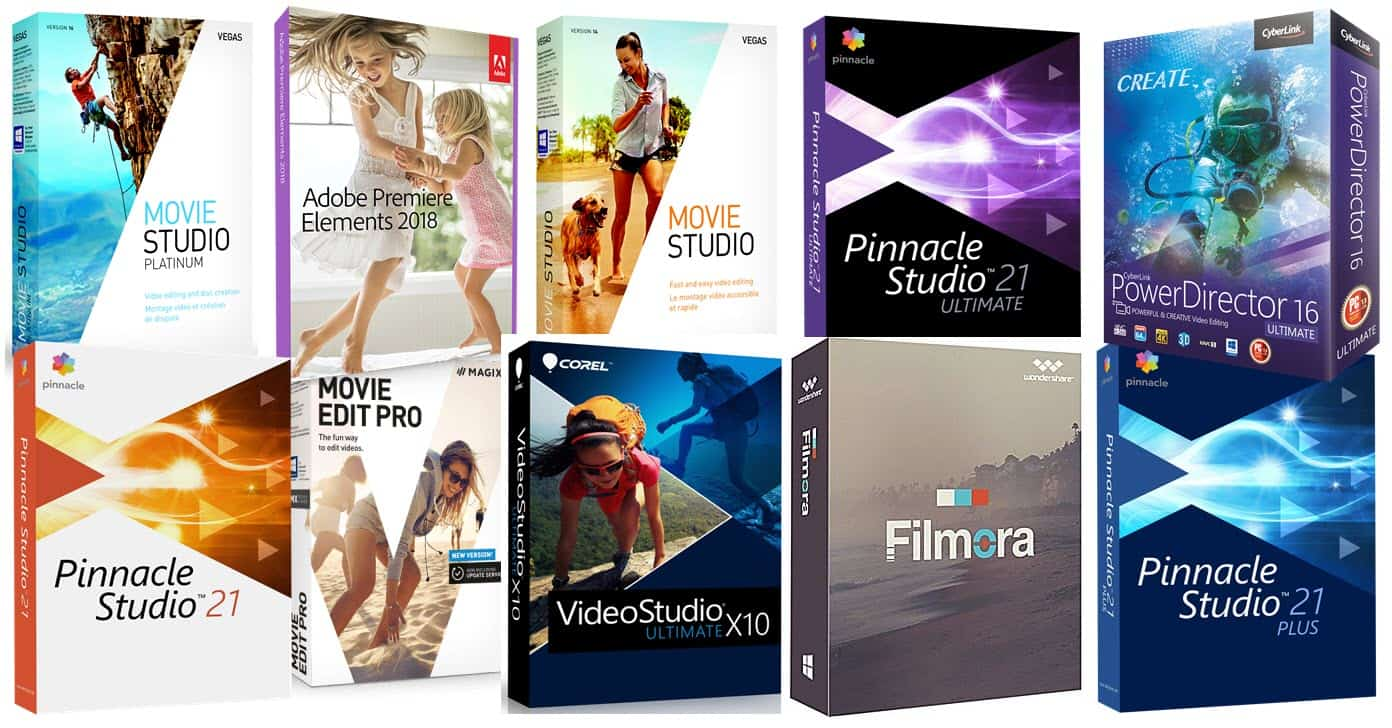 Best Video Editing Software Reviewed Summarized and Compared