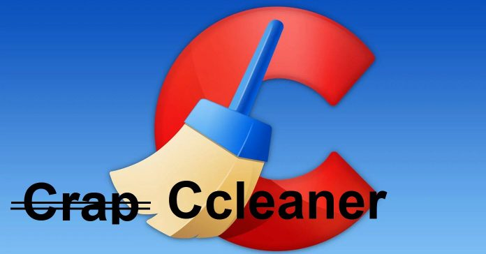 Image of the Ccleaner logo.