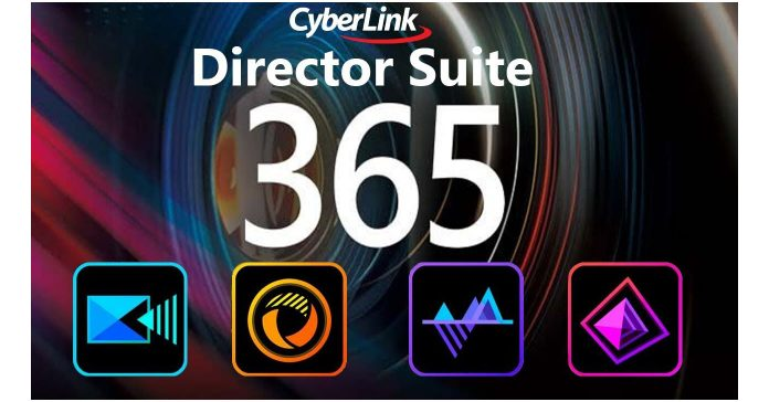 Logo for Cyberlink Director Suite 365 software package.