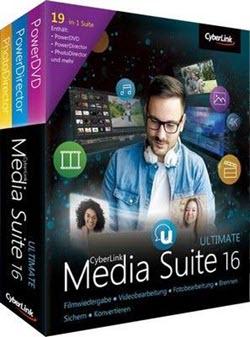 CyberLink Media Suite 16 box shot