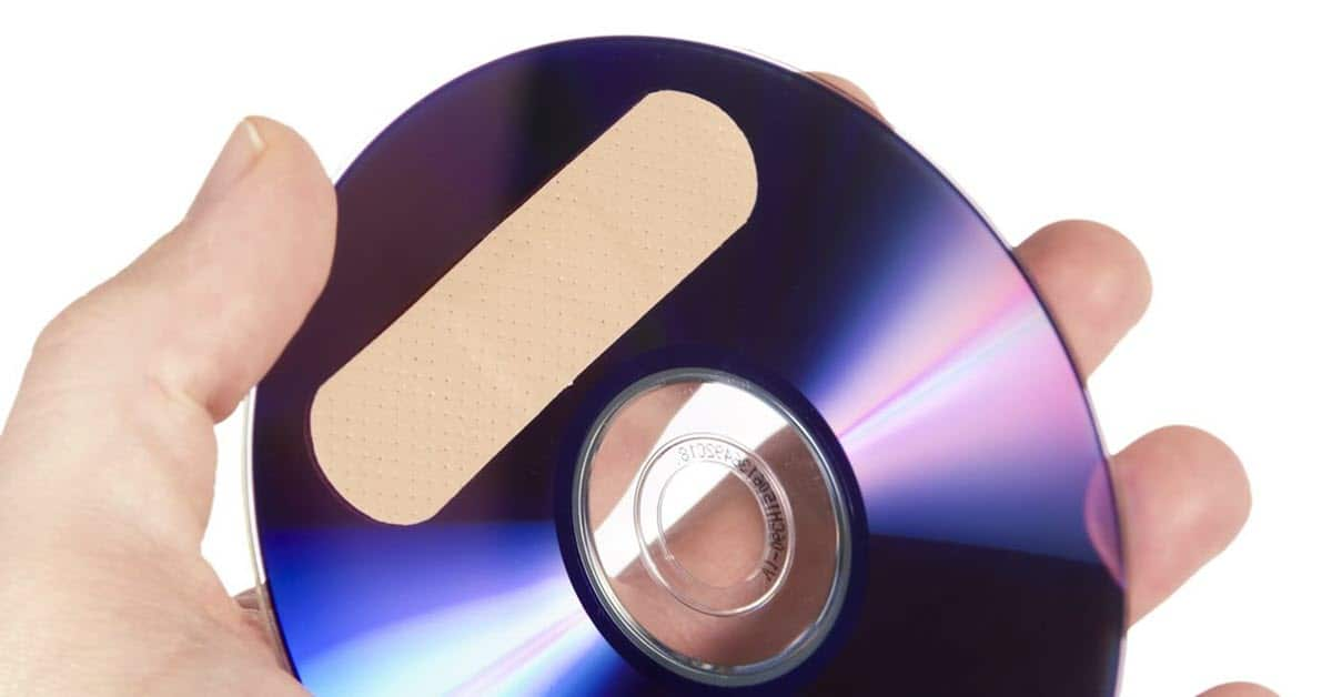 DVD repair image for Fix VTS