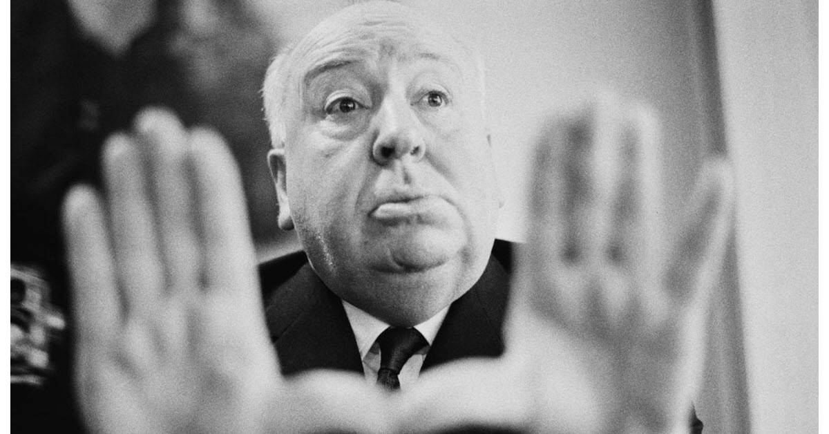 Image of Alfred Hitchcock movie director.