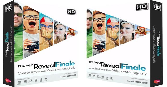 muvee Reveal Finale Box shots