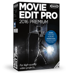 Box shot of Magix Movie Edit Pro.