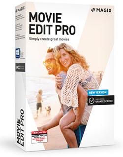 Box shot of Magix Movie Edit Pro editng software