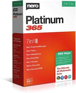 Nero Platinum Suite box shot