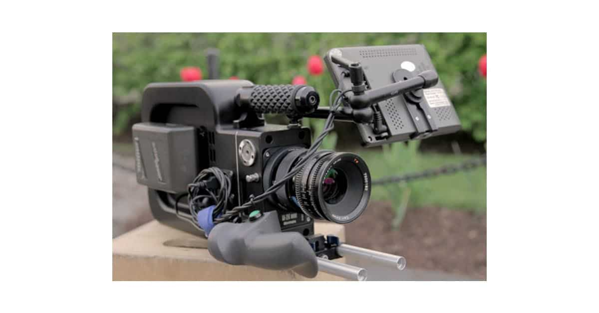 Image of the new Black Betty camera fom Black Magic design.