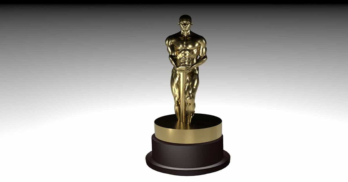 Image of an Oscar statuette.