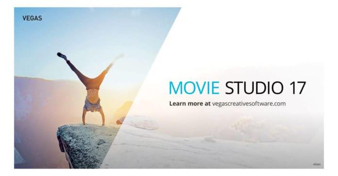Image of Vegas Movie Studio 17 update box