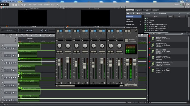 Video Pro X Mixing Desk