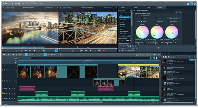 Video Pro X8 Interface