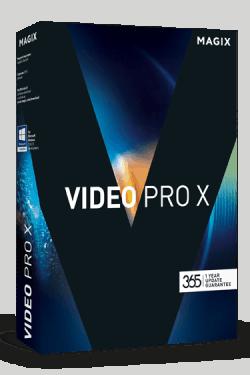 Magix Video Pro X8 Box