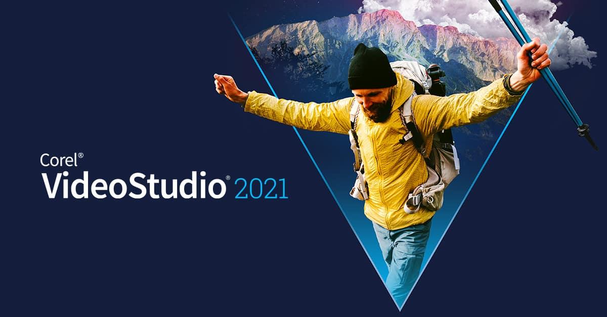 Corel VideoStudio 2021 splash screen
