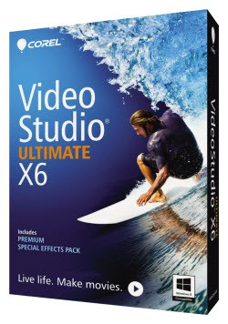 Corel Release VideoStudio Pro X6 and Ultimate X6
