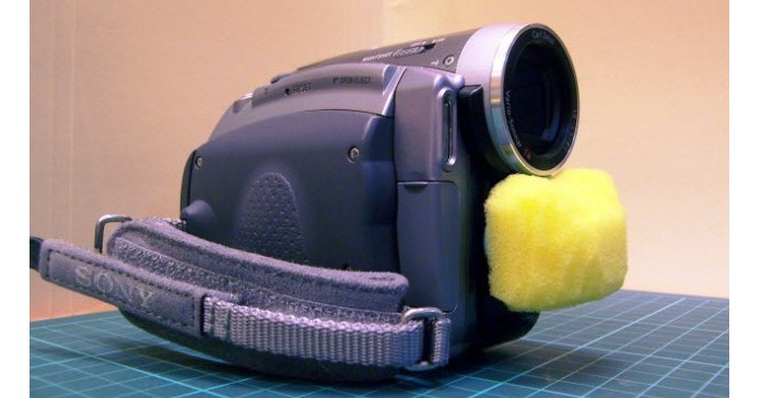 A Homemade Wind Noise Reduction Solution for Camcorders